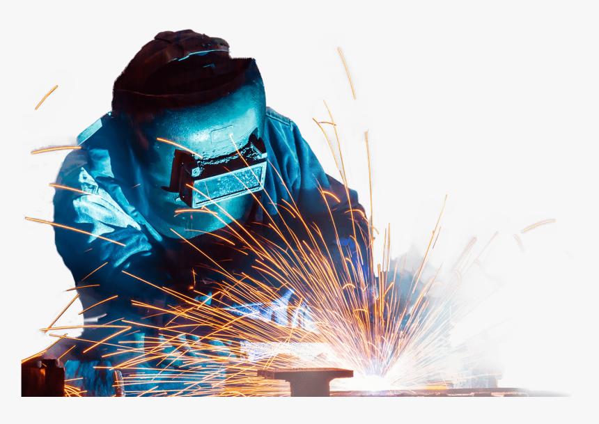 جوشکاری قطعات فولادی ساختمان