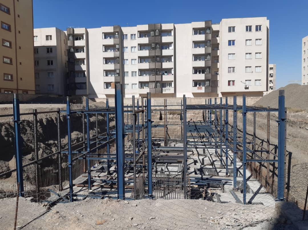 ساختمان فولادی مشهد